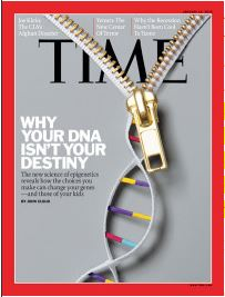 DNA is not your destiny Time Cover