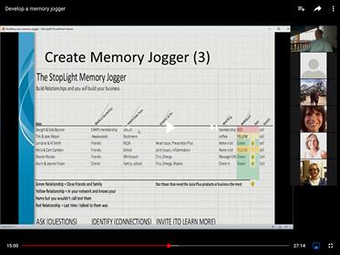 Google Sheets Memory Jogger